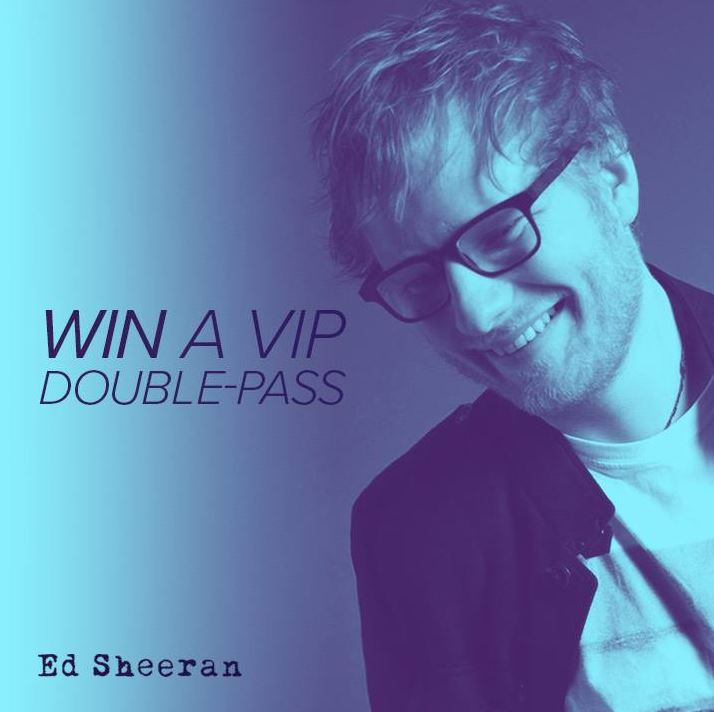 Ventraip competition win a vip trip to see ed sheeran live in brisbane m4hsunfo