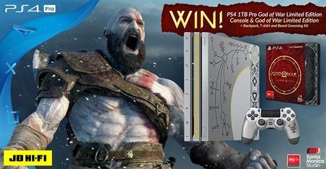 Jb Hi Fi God Of War Competition Limited Edition God Of War