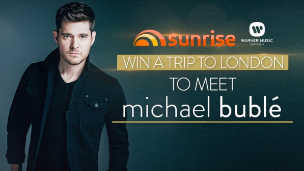 Sunrise competition win a trip to london to meet michael bubl m4hsunfo