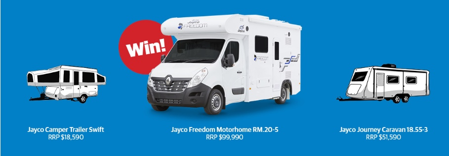 Herald Sun Win a Weekender Competition: Win 1 of 3 recreational vehicles