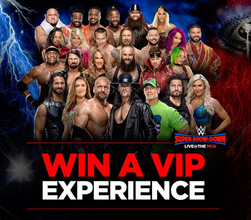 Jack links wwe competition win a wwe vip experience in melbourne m4hsunfo