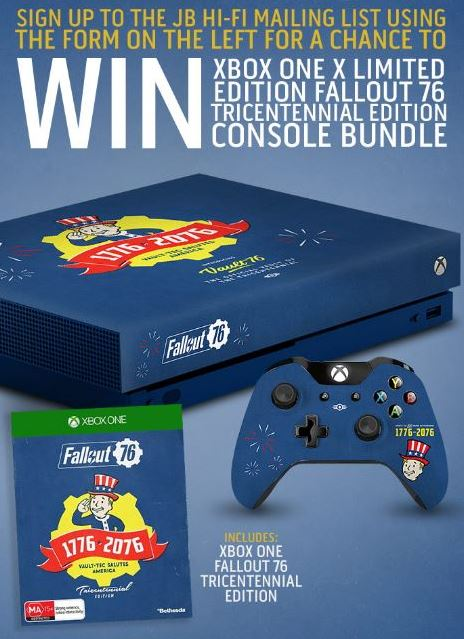 JB Hi-Fi Fallout Competition: Win an Xbox One X Limited Edition