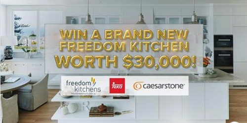 Today Show Freedom Kitchen Contest: Win a brand new kitchen ...