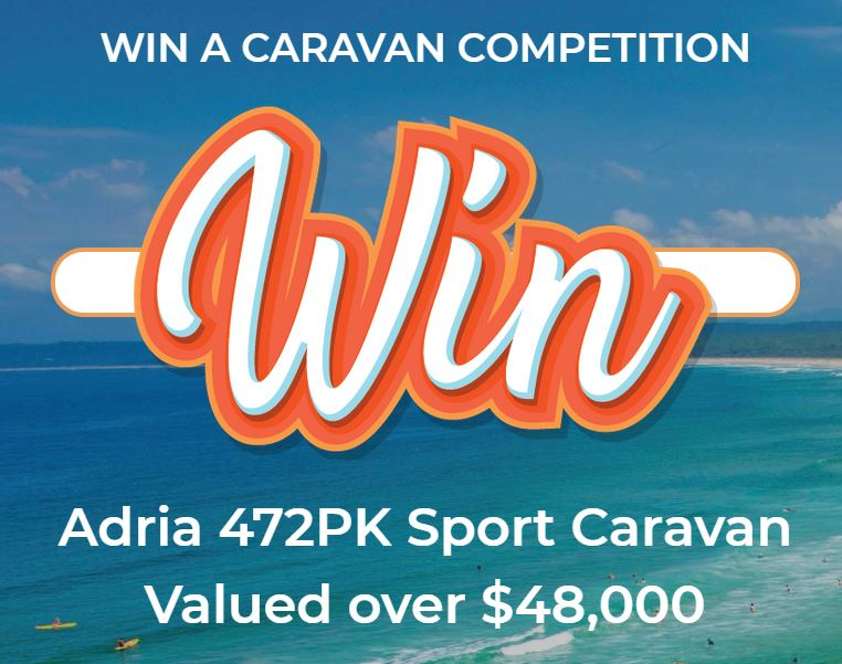 Ingenia Lifestyle Caravan Giveaway 2019: Win an Adria 472PK
