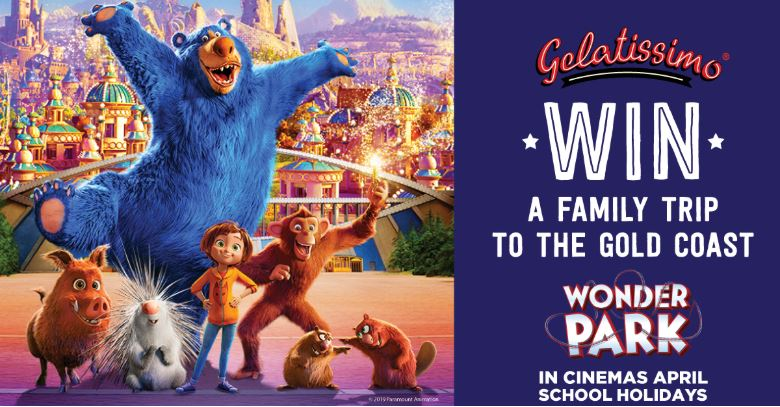 Gelatissimo Wonder Park Competition: Win a family trip to the Gold Coast