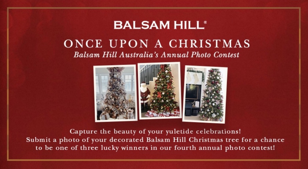 Balsam Hill once upon a Christmas Photo